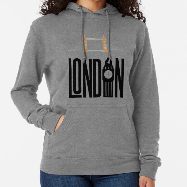 London Bridge and Tower  Lightweight Hoodie