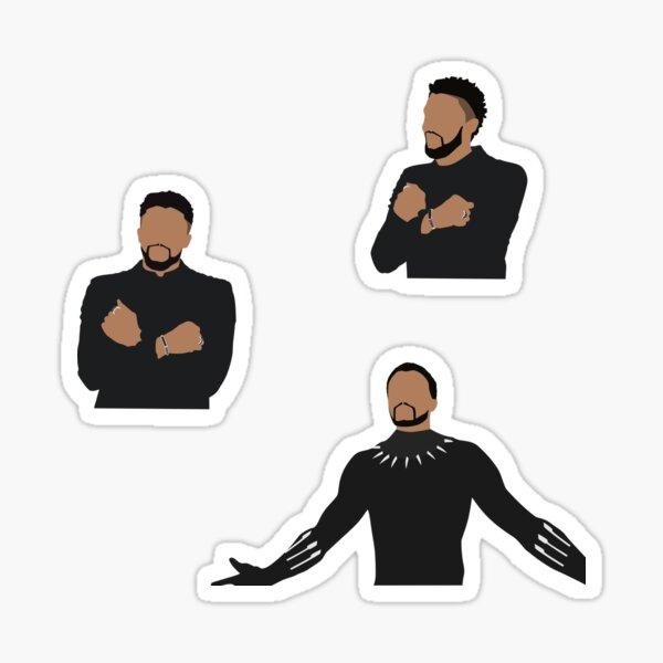 King T'Challa Multipack Sticker