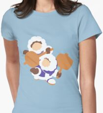 Smash Bros - Ice Climbers Womens Fitted T-Shirt
