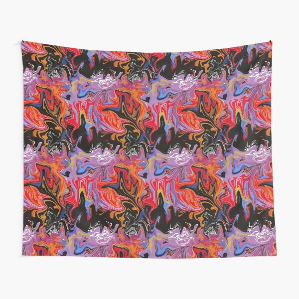 5SOS Youngblood Inspired Marble Effect Pattern Tapestry