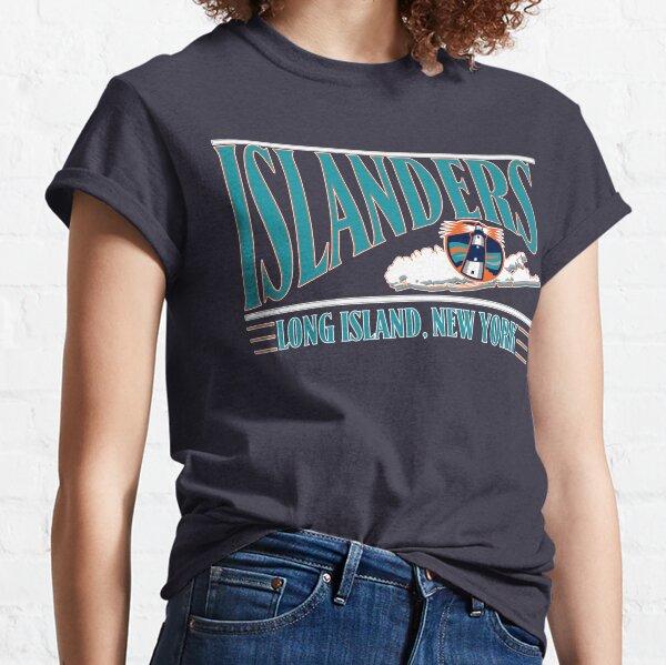 vintage long island islanders reverse retro hockey  Classic T-Shirt