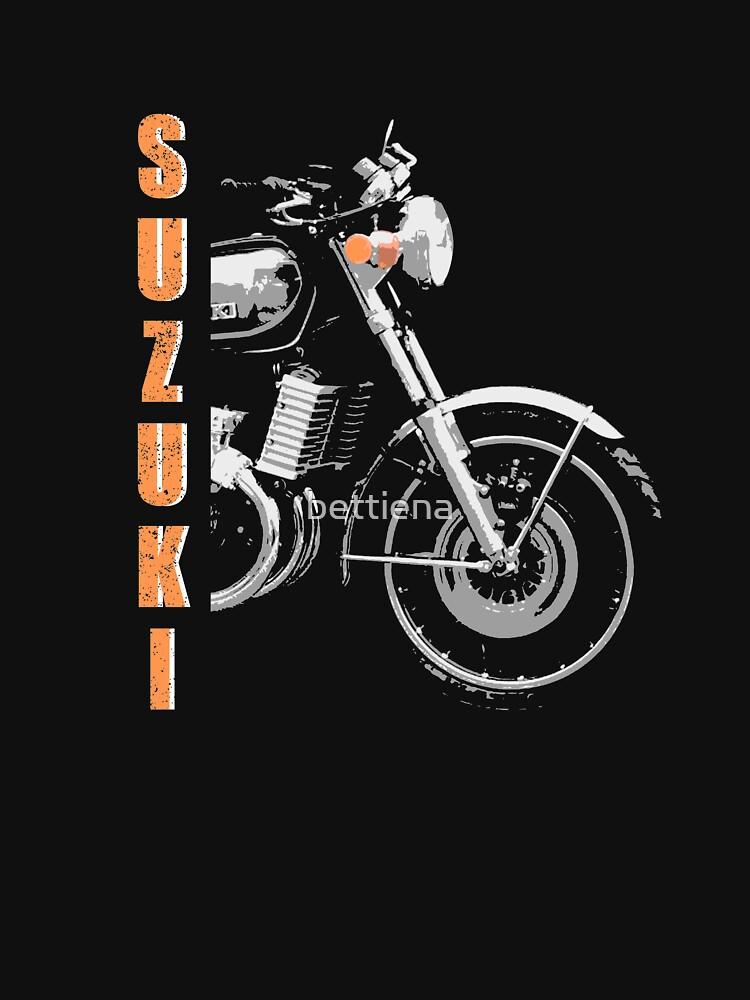 Suzuki GT750 Front wheel by bettiena