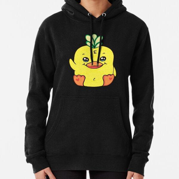 moriah elizabeth georgie pineapple duck plush Pullover Hoodie
