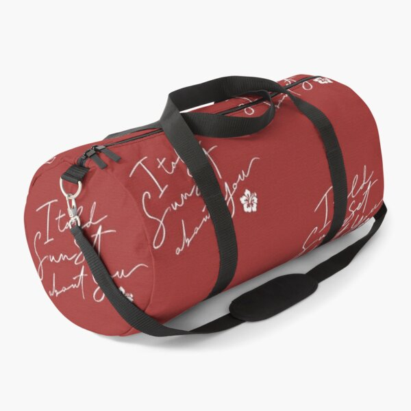 I told sunset about you  Duffle Bag