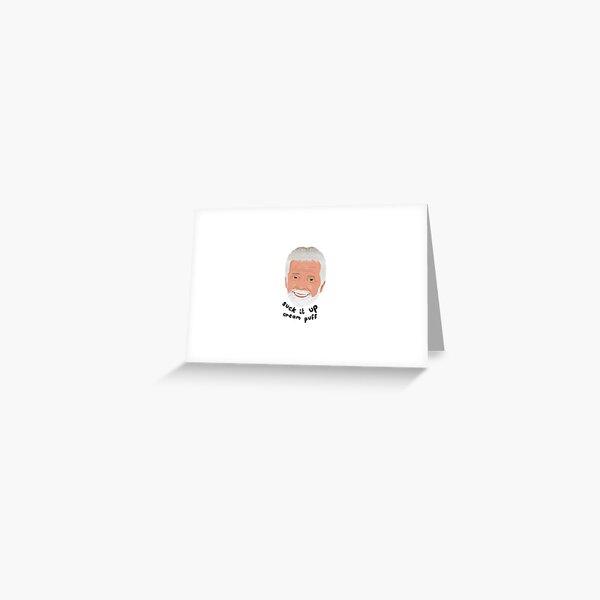 Captain Lee - Suck It Up Cream Puff Greeting Card