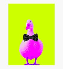 Pink DUCK Photographic Print