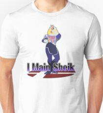 I Main Sheik - Super Smash Bros Melee T-Shirt