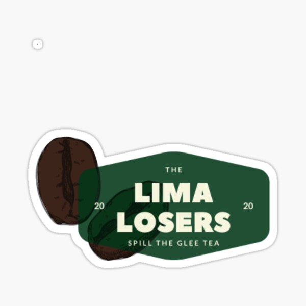 The Lima Losers Podcast Logo Sticker
