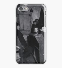 Talmud School in Hester Street,  Jacob Riis, iPhone Case/Skin