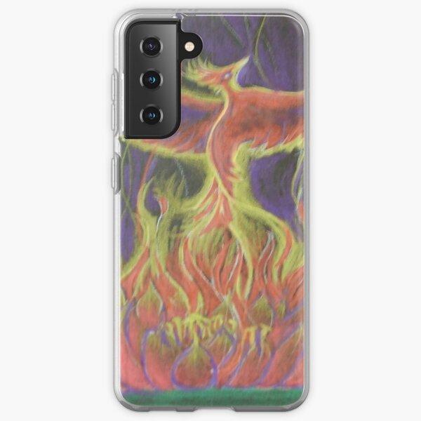 Phoenix Lotus Rising Samsung Galaxy Soft Case