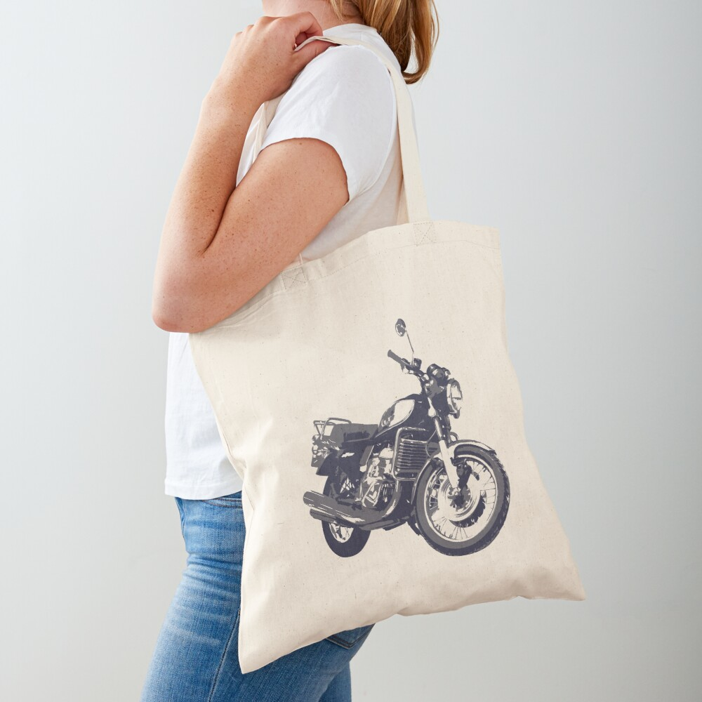 Suzuki GT750 B Tote Bag