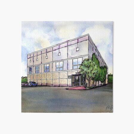 The Office By Pam Beesly(Halpert) Art Board Print