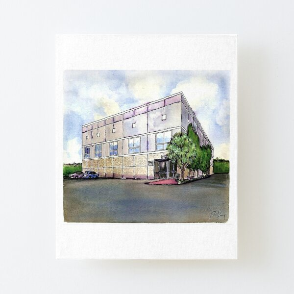The Office By Pam Beesly(Halpert) Canvas Mounted Print