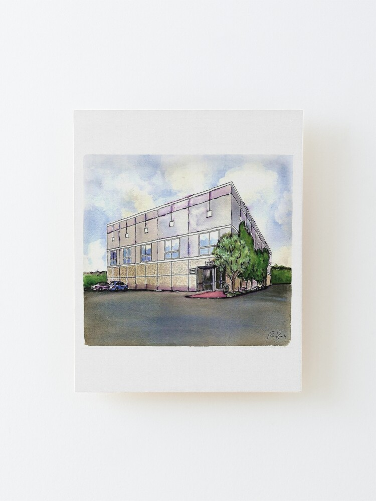 Alternate view of The Office By Pam Beesly(Halpert) Mounted Print