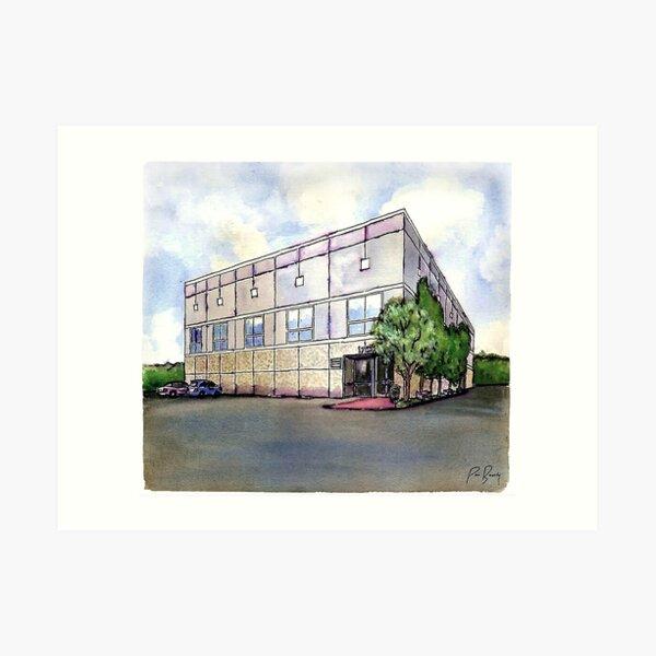 The Office By Pam Beesly(Halpert) Art Print