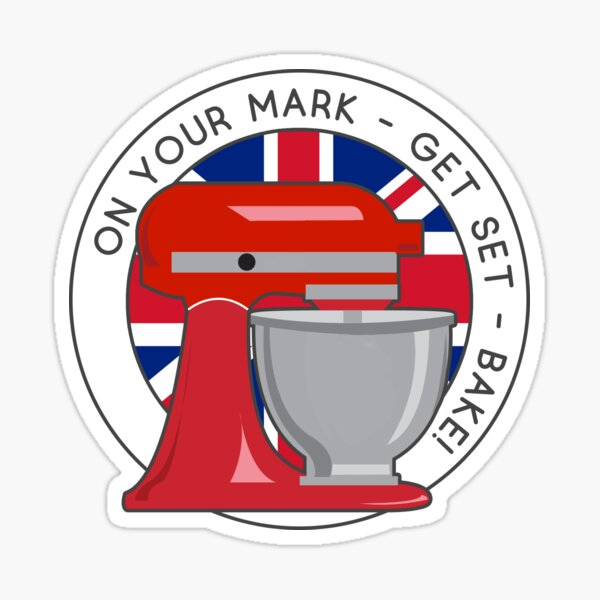 GBB On Your Mark Mixer Sticker
