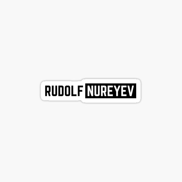 rudolf nureyev Sticker