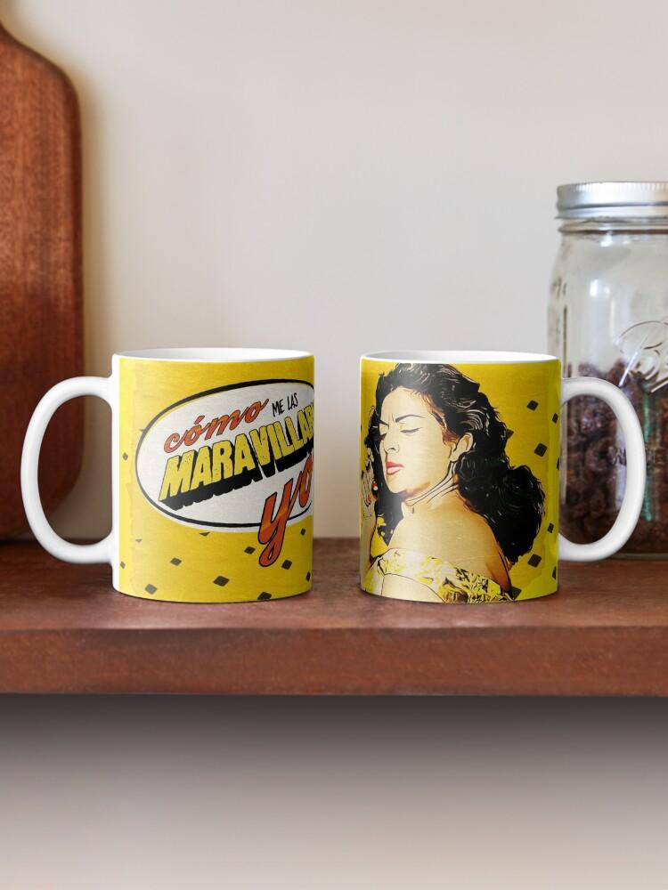 Vista alternativa de Taza Lola Flores Cómo me las maravillaría yo Comics Vintage
