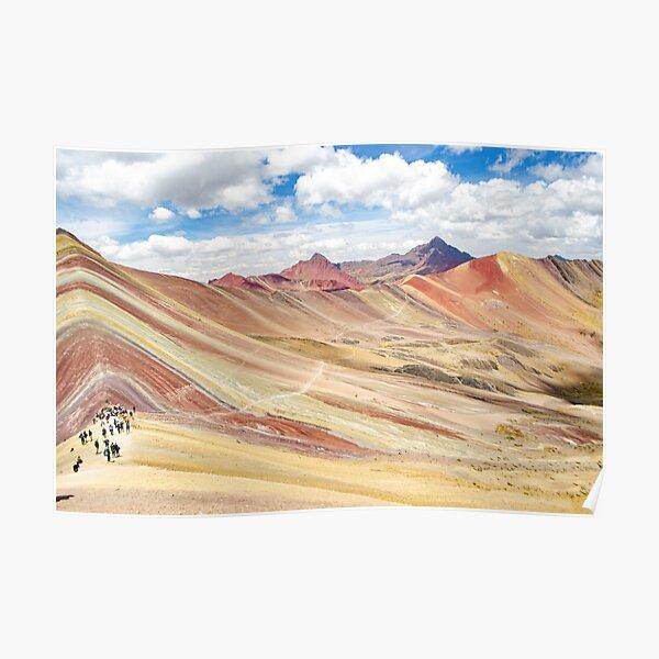 Montaña Arcoíris - Perú Vinicunca Póster