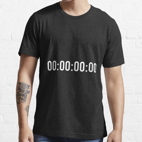 The End Timer Essential T-Shirt