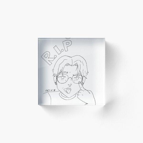 RIP Artie Acrylic Block