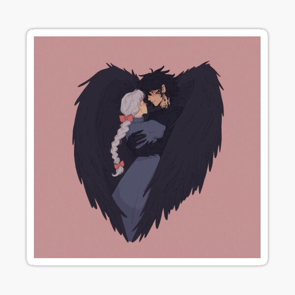 Howl and Sophie in Love Sticker