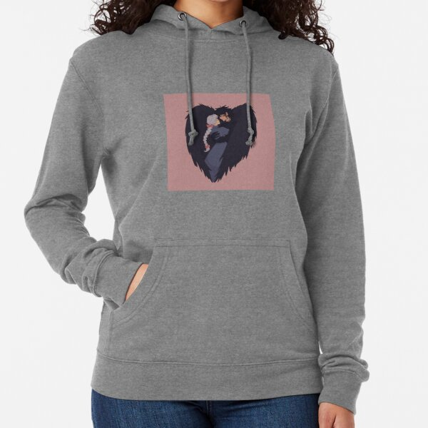 Howl and Sophie in Love Lightweight Hoodie