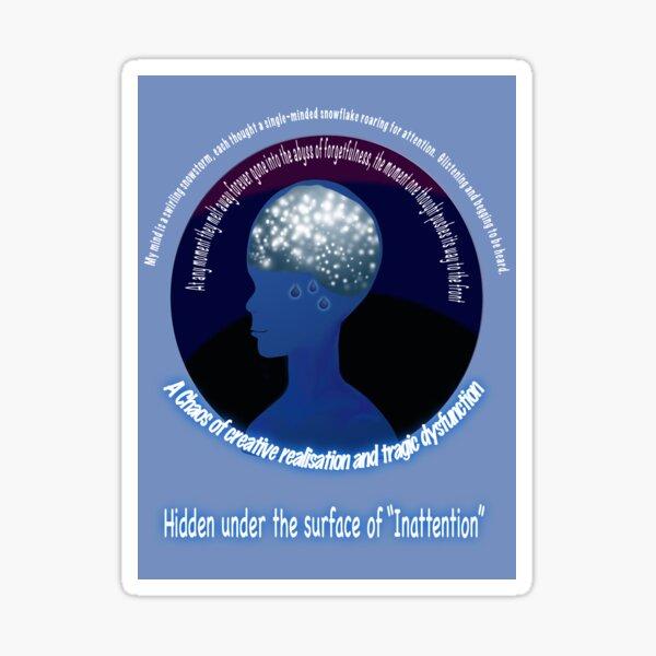 Snowstorm Mind Sticker