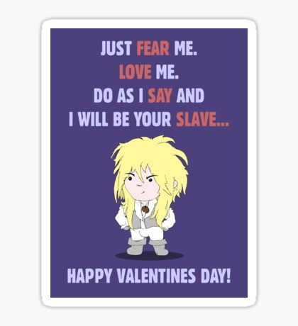 I Will Be Your Slave... Sticker