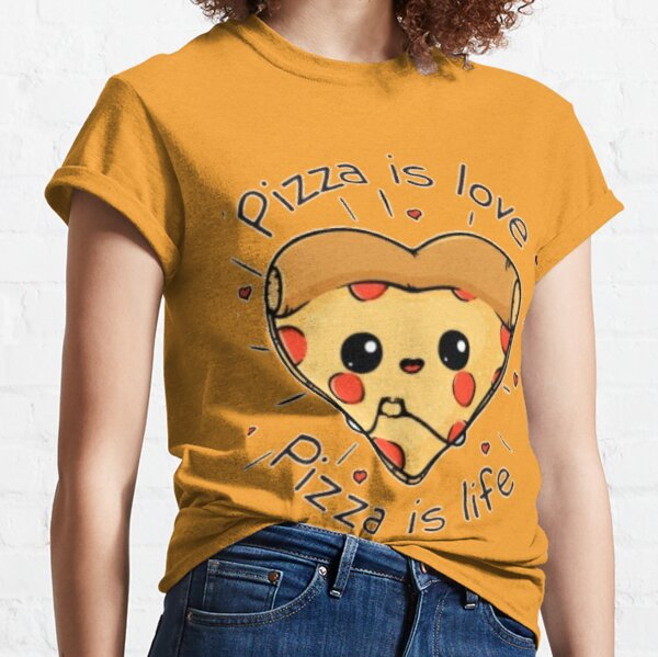 Pizza love and life Classic T-Shirt