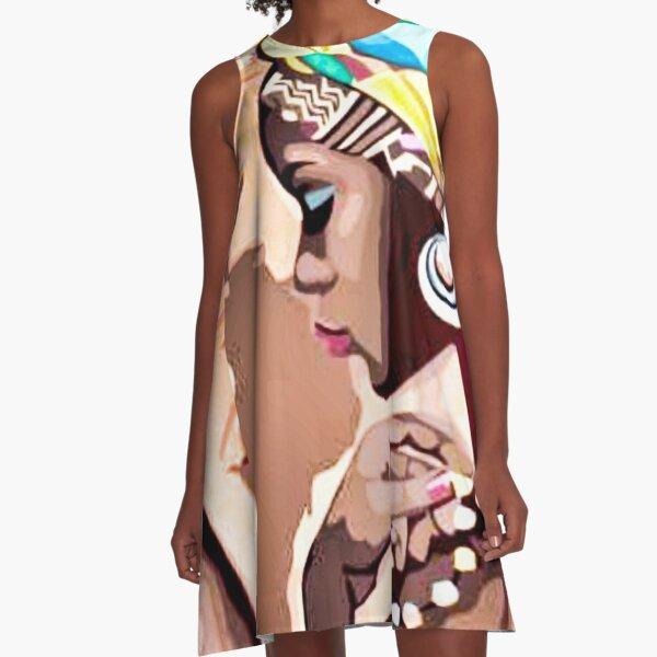Africa A-Line Dress