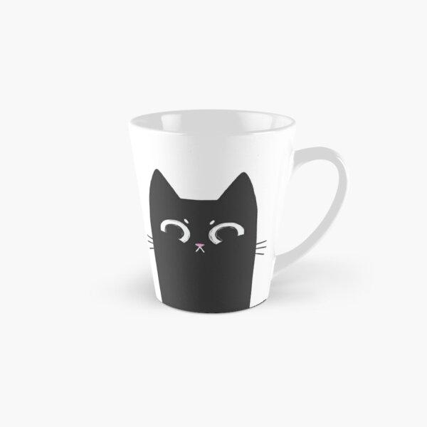 Grumpy Black Cat Tall Mug