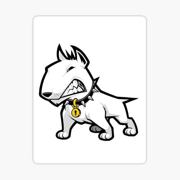 Bull terrier Pegatina
