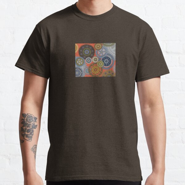 Steampunk Clockworks and Gears  Classic T-Shirt