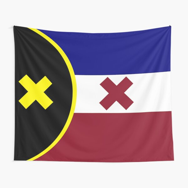 L'Manberg Dream SMP Flag Tapestry