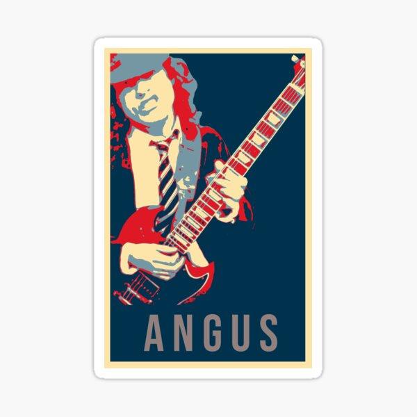 Ac//Dc Official Voiture Sticker Lot Aufkleberset Divers Motifs Acdc Angus Young