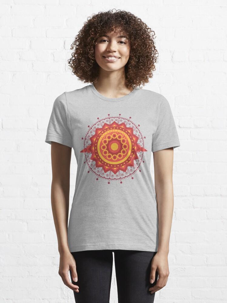 Alternate view of Mandala Essential T-Shirt