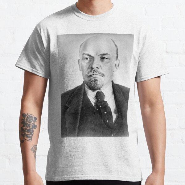 Vladimir Lenin. Vladimir Ilyich Ulyanov, better known by his alias Lenin, was a Russian revolutionary, politician, and political theorist. Classic T-Shirt