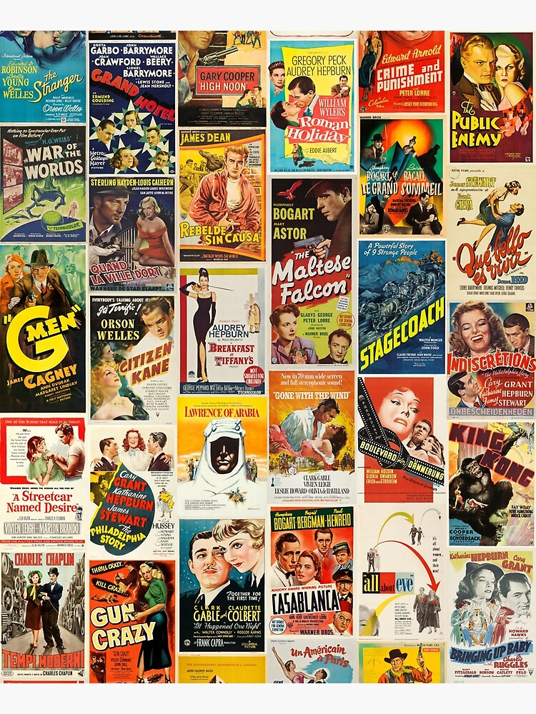 Classic Movie Poster Collage by artboy213