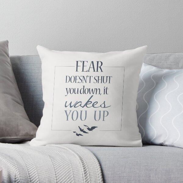 Fear   Divergent  Throw Pillow