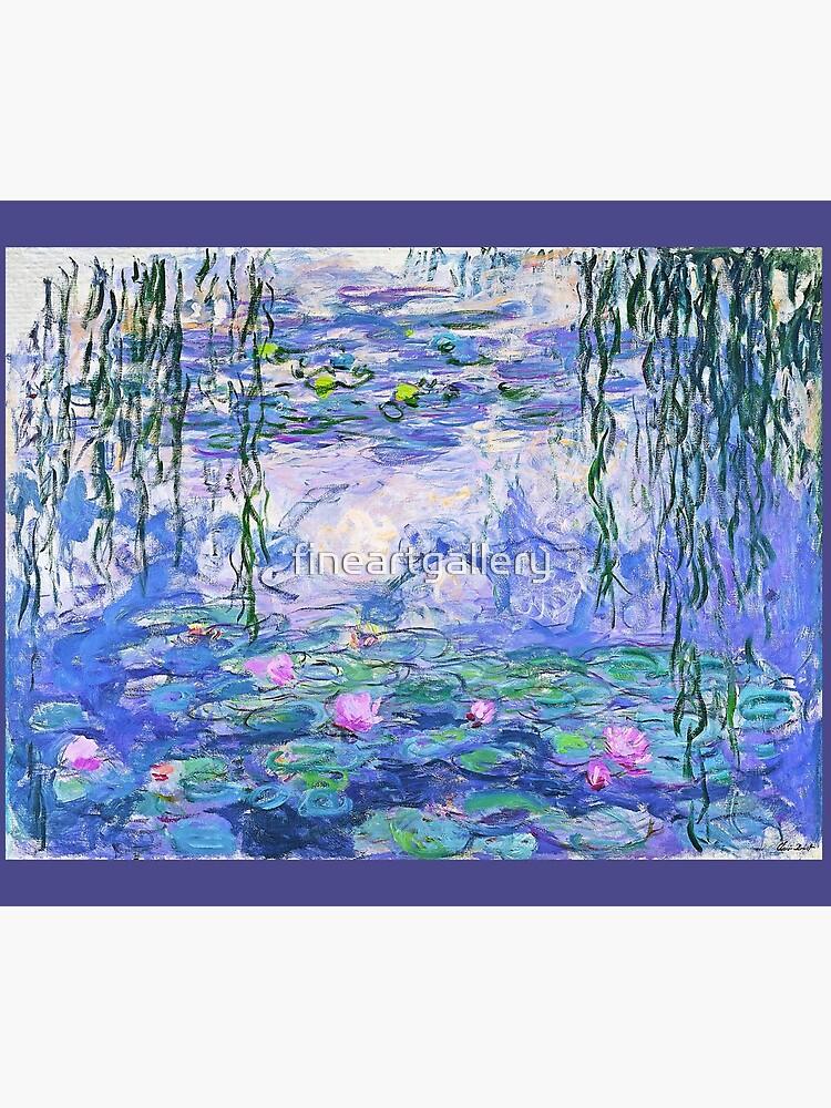 Claude Monet Water Lilies by fineartgallery
