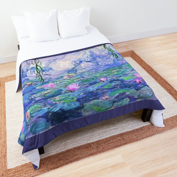 Claude Monet Water Lilies Comforter