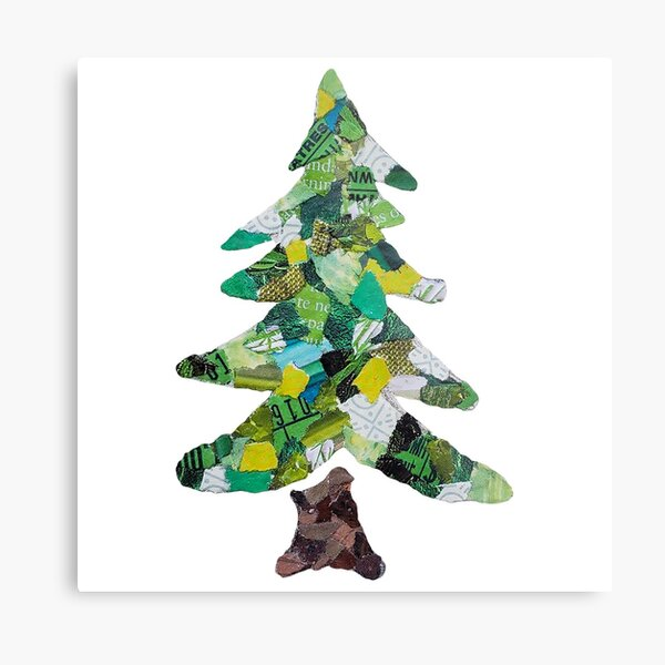Christmas Tree - Christmas Collection Metal Print