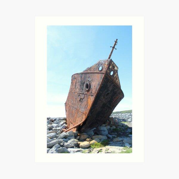 Inis Oirr Aran Islands Art Print