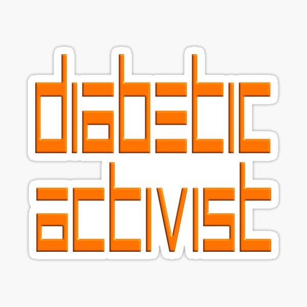 DIABETIC ACTIVIST - DIABETIC CHRISTMAS GIFT Sticker