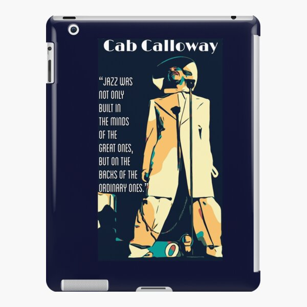 Cab Calloway iPad Snap Case