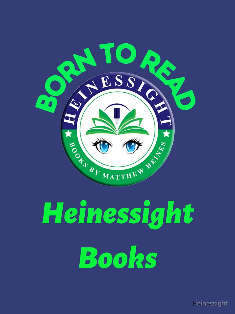 Heinessight Bookstore Logos for Book Lovers and Lovers Alike by Heinessight