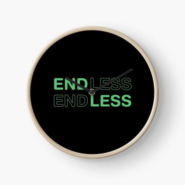ENDLESS love movie. Green. Clock
