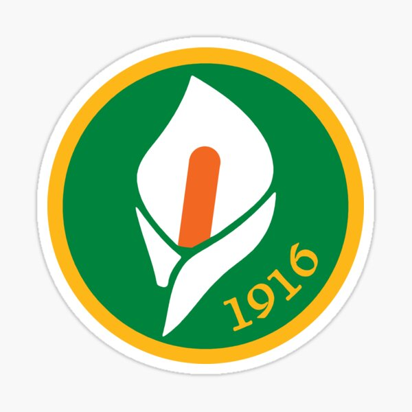 Easter Rising - 1916 - Easter Lily  Sticker