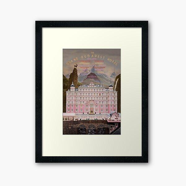 The Grand Budapest Hotel Framed Art Print